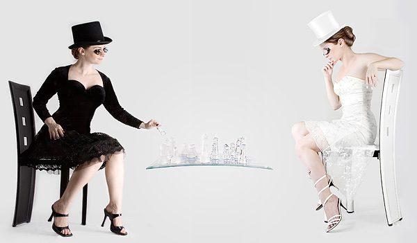 Black and White, photomanipulation by Irina Solatges