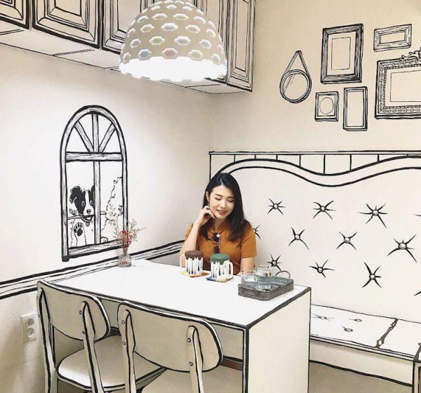 Café Yeonnam-dong 239-20, an unusual Café In Seoul