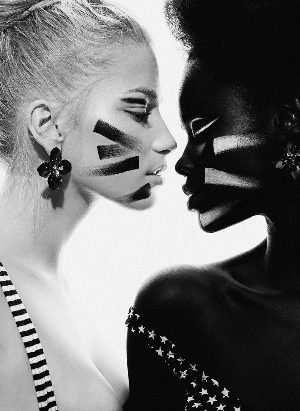 Double beauty, photography by Elena Iv-skaya