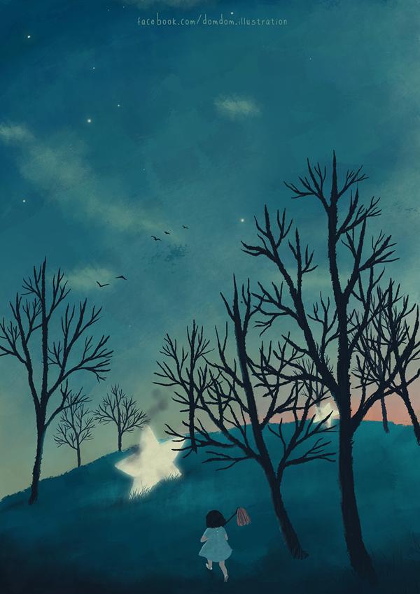 Illustration by Đốm Đốm