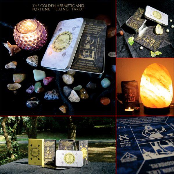 The Golden Hermetic Tarot