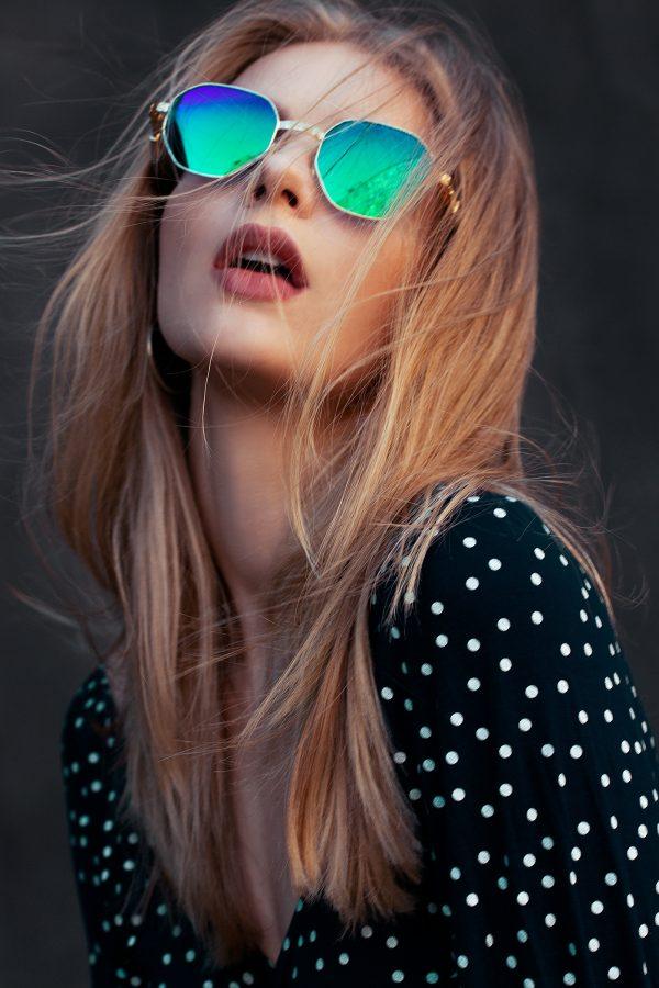 Eyewear lookbook, photography by Tim Rise