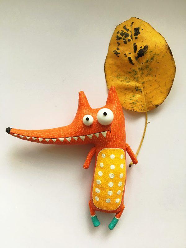 Autumn fun, toy design by Lidiya Marinchuk