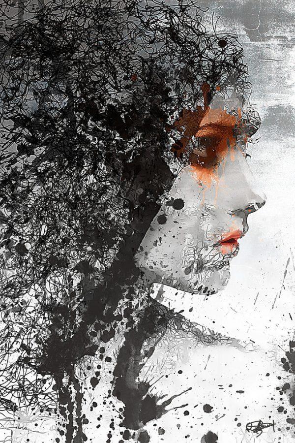 Digital art by Romain Bonnet