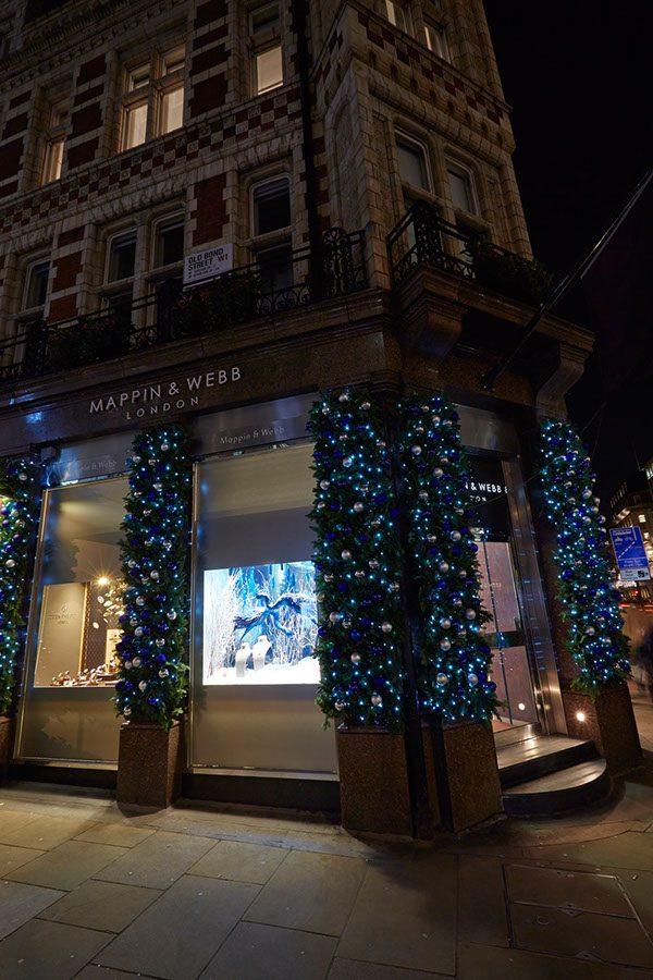 Mappin & Webb UK Christmas Windows
