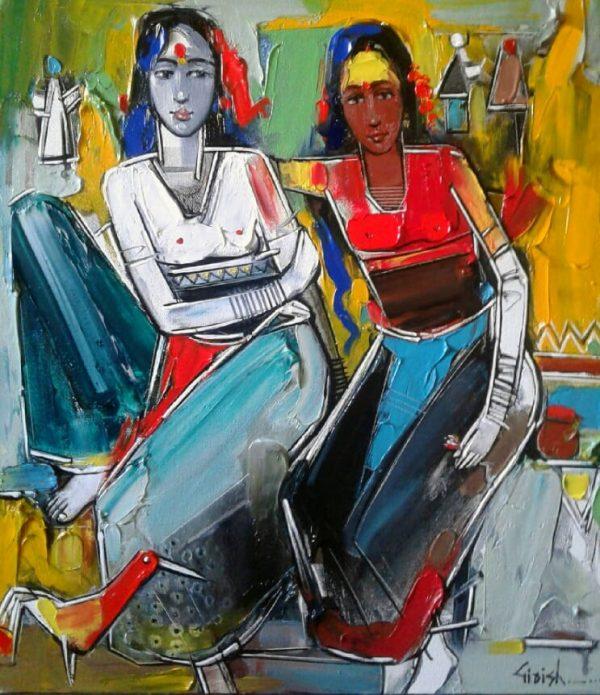 Paintings by Girish Adannavar