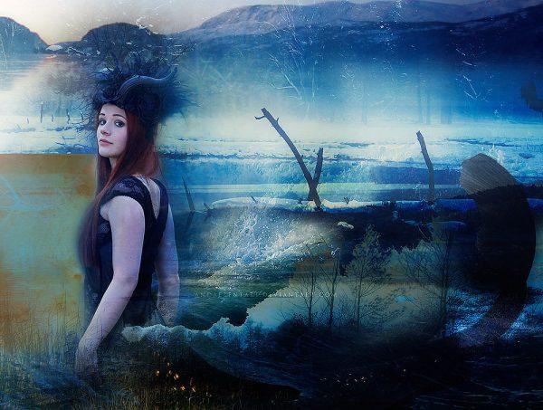 Photomanipulations by Elizabeth Hinders