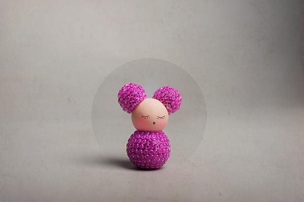 Polymer clay, modeling by Larissa Honsek