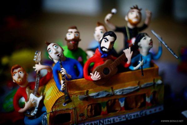 Le bus de JeanNine et ses musicos, project by Nathalie Vessié-Hodges