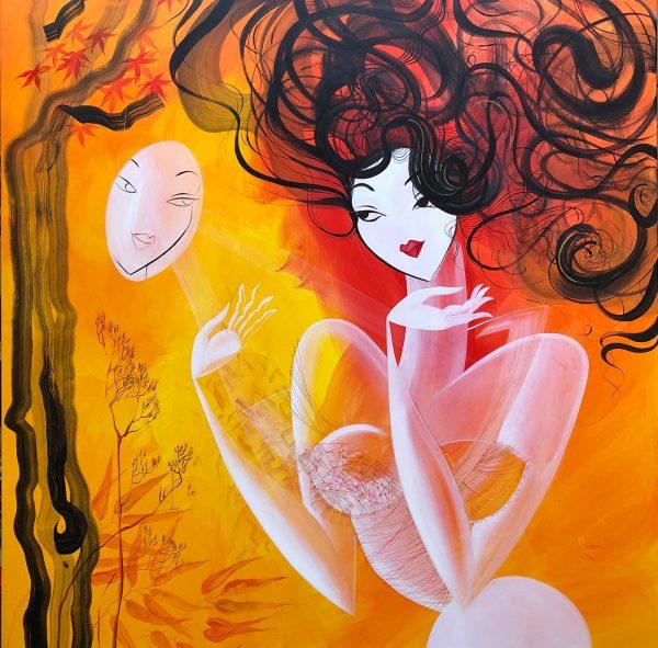 Paintings by Noemi Kolcakova Szakallova