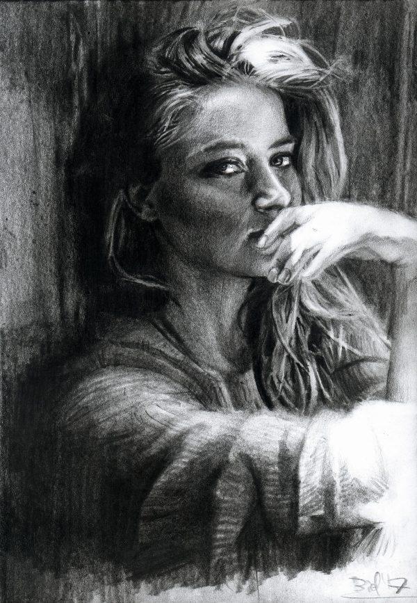 Drawings by Lukasz Biel