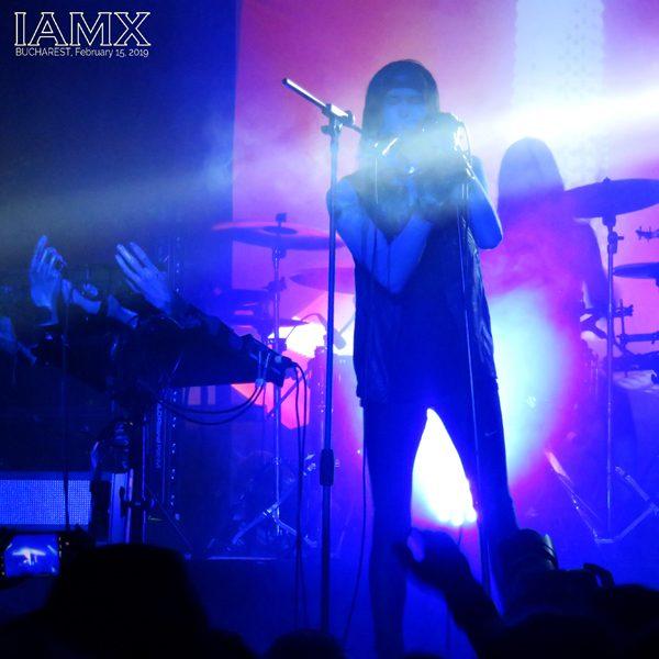 IAMX - Quantic Club, Bucharest, Romania
