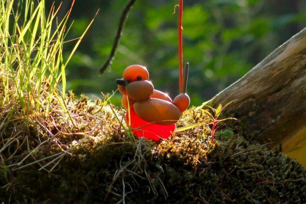 Bird Balloons, sculptures by T James Cook