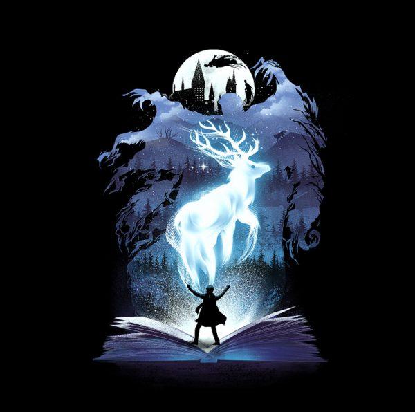 Harry Potter Book series of illustration by Dan Elijah Fajardo