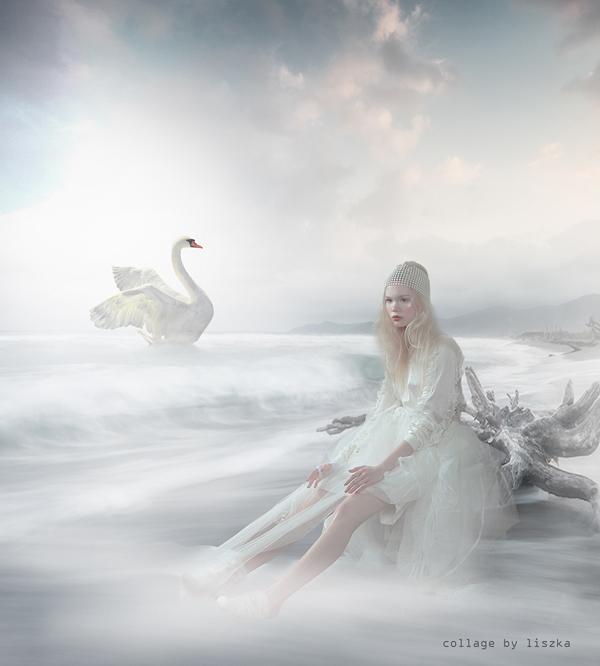 Fashion collage art by Katarzyna Pander-Liszka - Ego - AlterEgo
