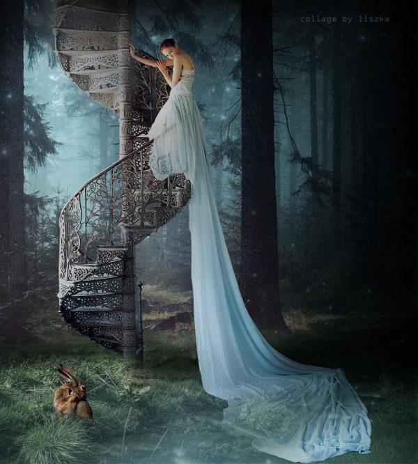 Fashion collage art by Katarzyna Pander-Liszka