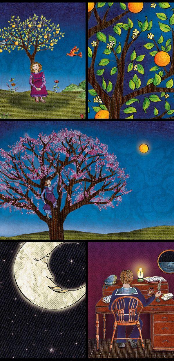 Illustrated album: La sábana azul by Silvana Verdini