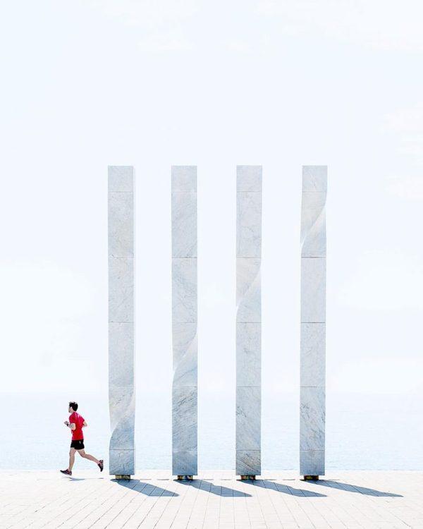 Minimalist urban landscape photography by Yasmin Bouharras