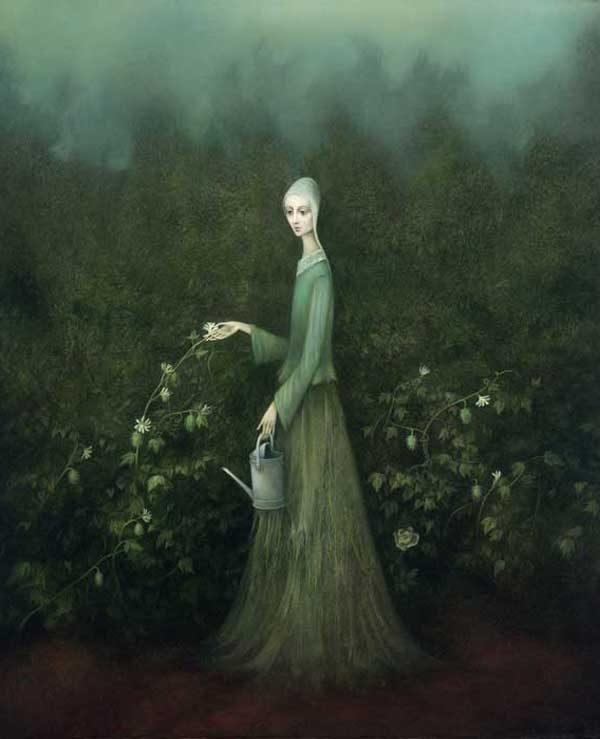 Paintings by Alla Tsank