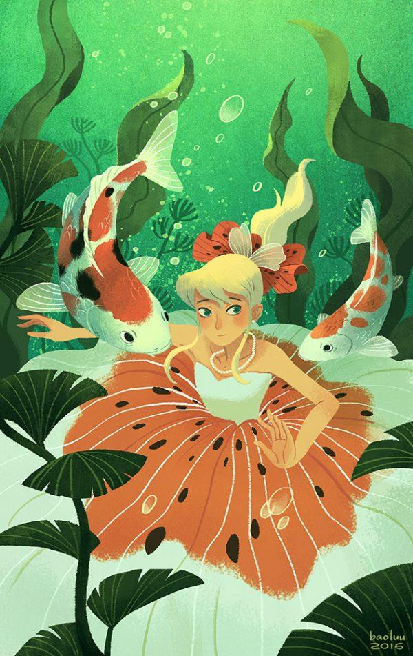 Horoscope Book Cover Illustration by Bao Luu