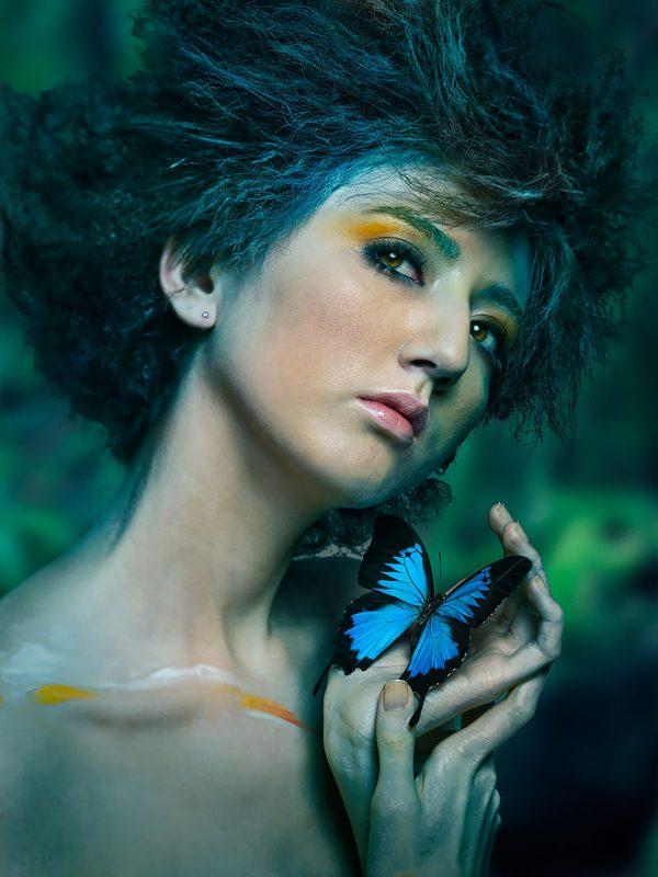 Magical portrait photography by Shinji Watanabe