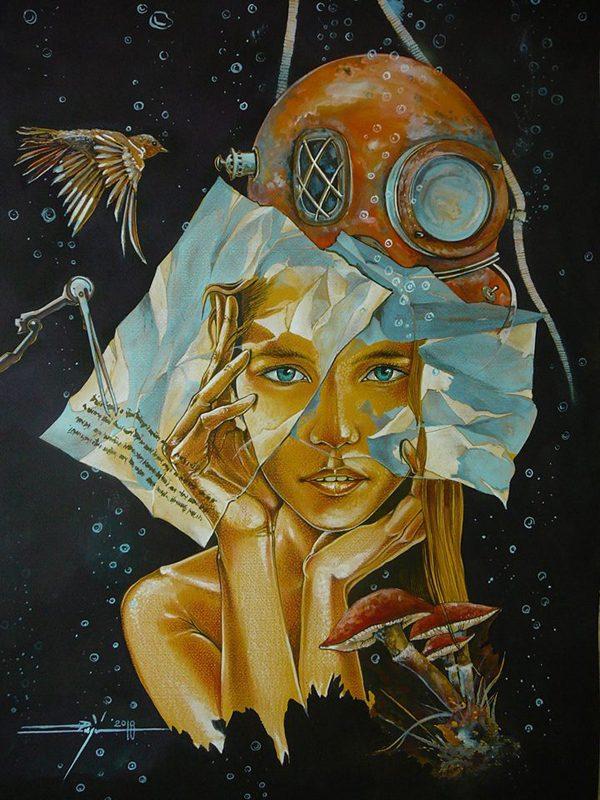Paintings by Luigi Puiu