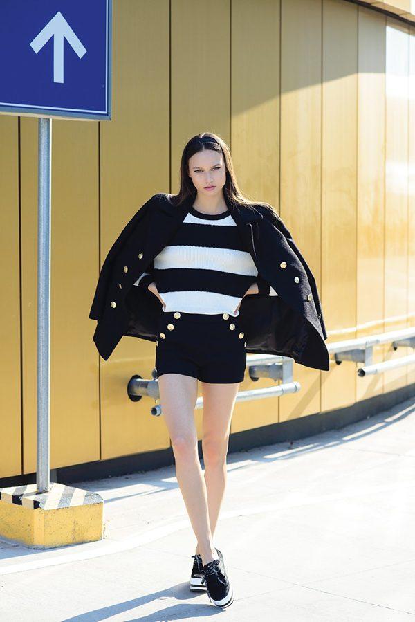 Pavlina, Editorial for MODA magazine
