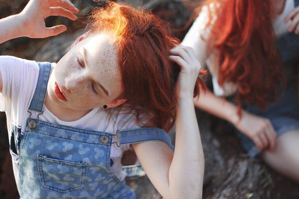 Redhead, photography by Lena Zubkova