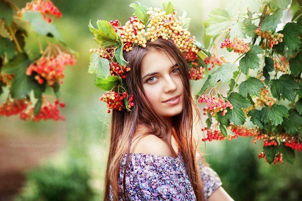 Viburnum, photography by Olga Boyko