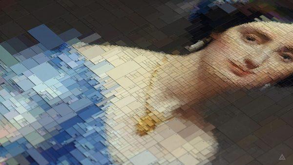 Portraits, algorithmic beauty by Dimitris Ladopoulos