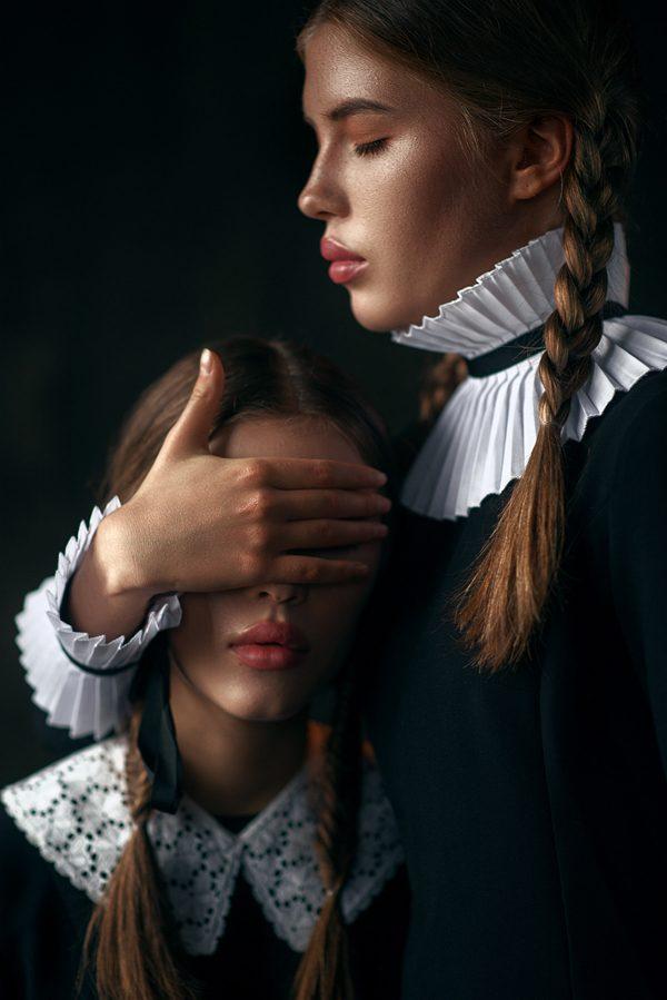Creation. Sisters, photography by Maks Kuzin