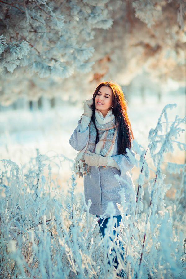 Winter fairy tale, photography by Olga Boyko